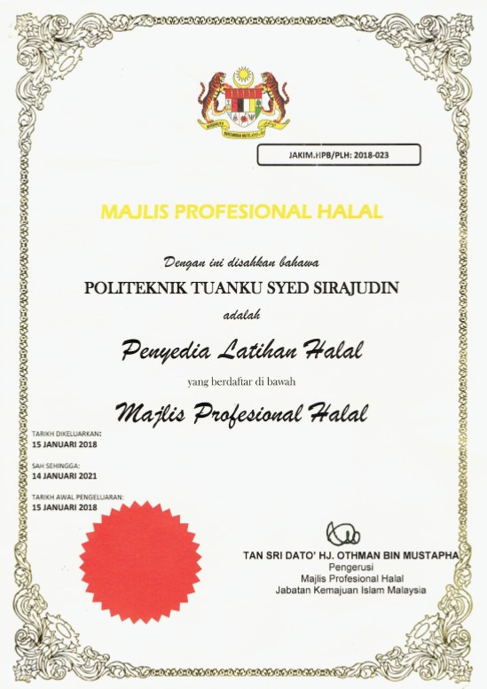 Professional Certification In Halal Executive Programme